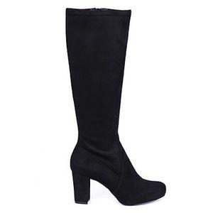 Nina Suede Knee High Boots
